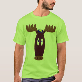 Sheriff Moose T-Shirt
