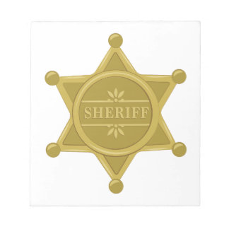 Sheriff Notepad