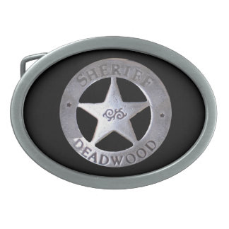 Sheriff of Deadwood Belt Buckles