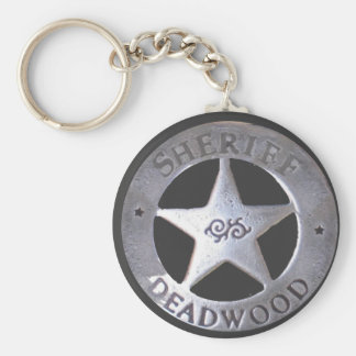 Sheriff of Deadwood Keychain