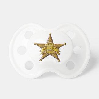 Sheriff Pacifier