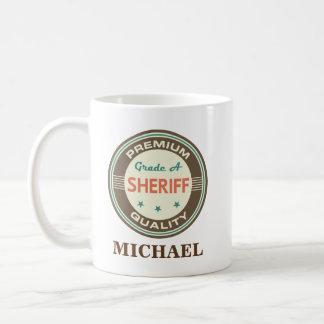 Sheriff Personalized Office Mug Gift