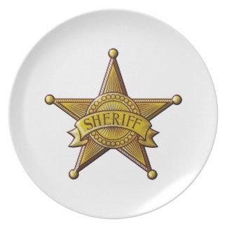 Sheriff Plate