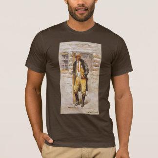 Sheriff Portrait by Seltzer, Vintage West Cowboy T-Shirt