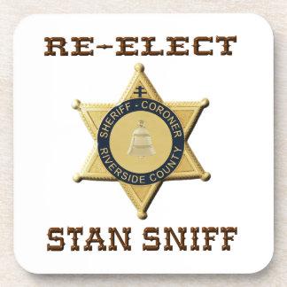 Sheriff Sniff Coaster