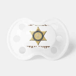 Sheriff Sniff Pacifier