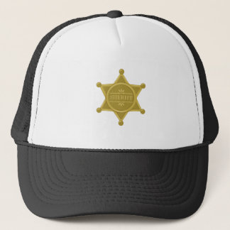 Sheriff Trucker Hat