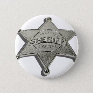 SheriffBadgeLetters110510 2 Inch Round Button