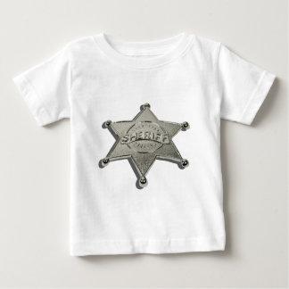 SheriffBadgeLetters110510 Baby T-Shirt