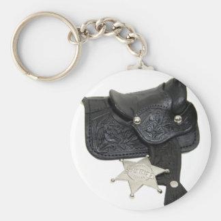SheriffBadgeSaddle051009 Keychain