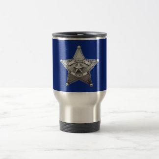 Sheriff's Father Badge Travel Mug