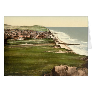 Sheringham from East Cliff, Norfolk, England Card