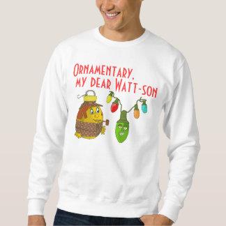 Sherlock Holmes Christmas Sweatshirt