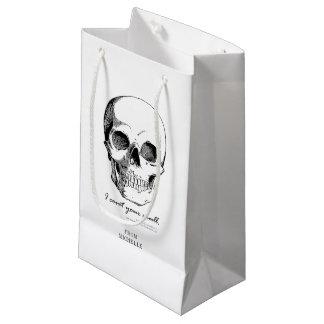 Sherlock Quote I Covet Your Skull Gothic Gift Bag