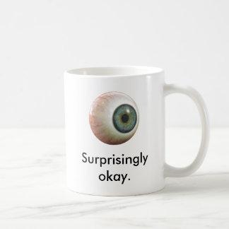 Sherlock Surprisingly Okay Eyeball Mug