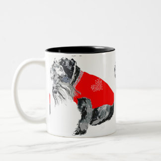 Sherlock Two-Tone Coffee Mug