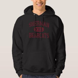 Sherman - Bearcats - High School - Sherman Texas Hoodie