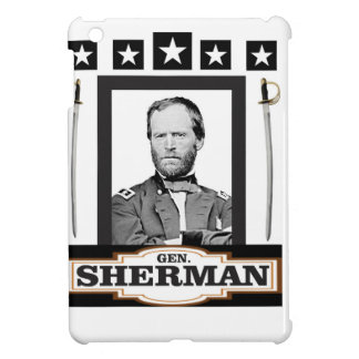 sherman stars swords iPad mini cases