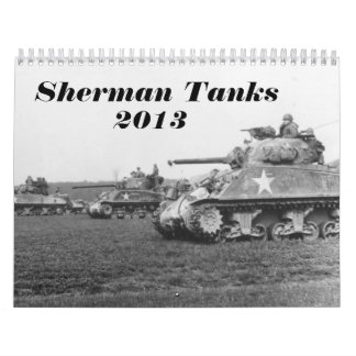 Sherman Tank Calendar