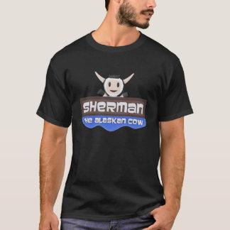 Sherman the Alaskan Cow Logo T-shirt