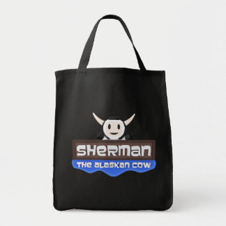 Sherman the Alaskan Cow Tote Bag