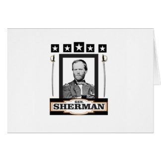 Sherman tient le premier rôle des épées carte