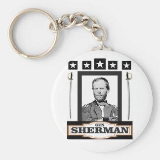 Sherman tient le premier rôle des épées porte-clé rond