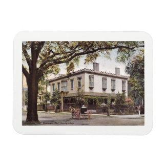 Sherman's Headquarters, Savannah, Georgia Vintage Rectangular Photo Magnet