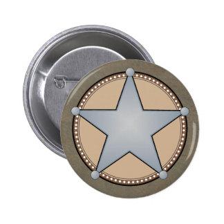 Sherriff Badge Button