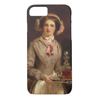 'Sherry Sir?', 1853 (oil on canvas) iPhone 7 Case