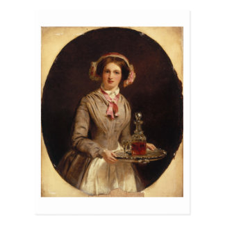 'Sherry Sir?', 1853 (oil on canvas) Postcard