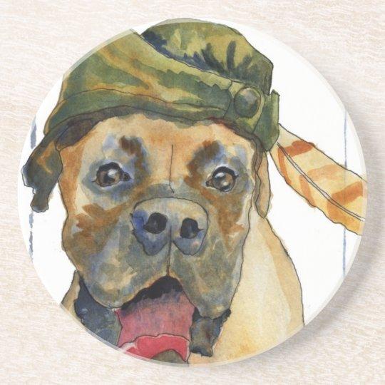 Sherwood Boxer Dog Coaster