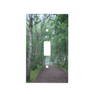 Sherwood Forest Path Light Switch Cover