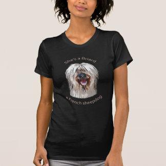 She's a Briard, a French Sheepdog T-Shirt