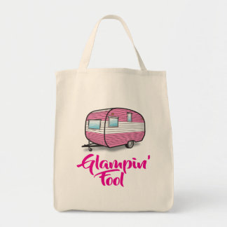 She's a Glampin' Fool Tote Bag