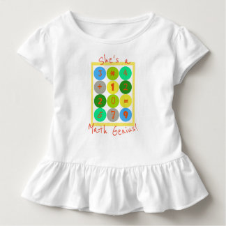 She's a Math Genius Toddler Top