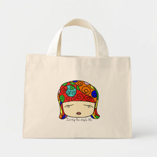 She's Cute as a Button Sleepy Head Tote