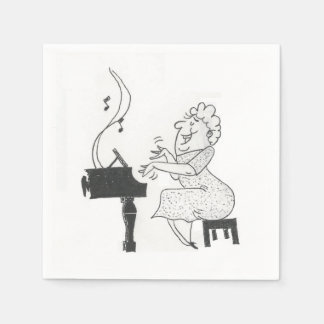 She's Music To My Ears Paper Napkins