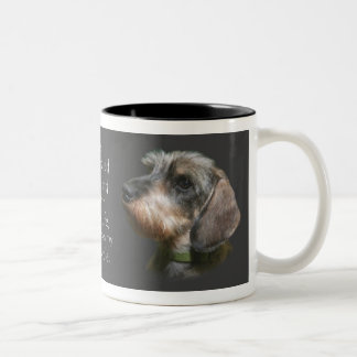 She's My Wire Haired Dachshund Mug