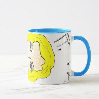 She's the Blonde Babe - Blue-Eyed n' Proud! Mug