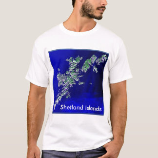 Shetland Islands Mens Basic T-shirt