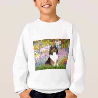 Shetland Sheepdog 14 - garden Sweatshirt