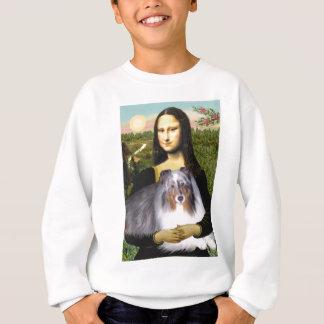 Shetland Sheepdog 17 - Mona Lisa Sweatshirt