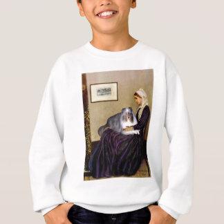 Shetland Sheepdog 17 - Whistlers Mother Sweatshirt