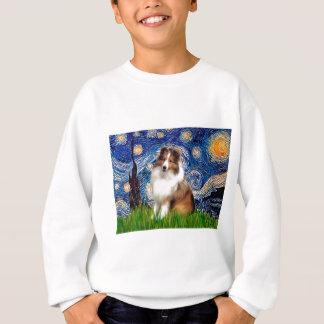 Shetland Sheepdog 4 - Starry Night Sweatshirt