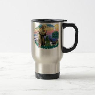 Shetland Sheepdog (bi black) Travel Mug