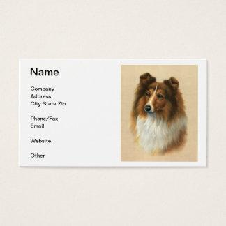 Shetland Sheepdog Business Cards