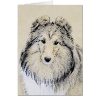Shetland Sheepdog Card
