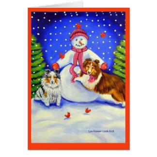 Shetland Sheepdog Christmas Cards