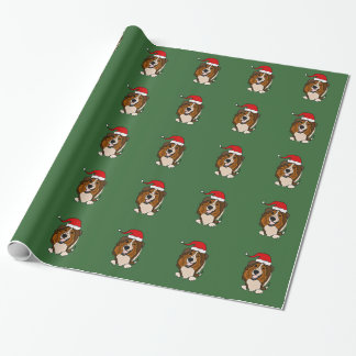 Shetland Sheepdog Christmas Wrapping Paper